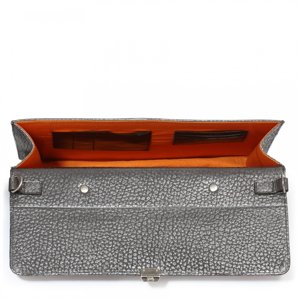 Coole Laptop Business Tasche, silber