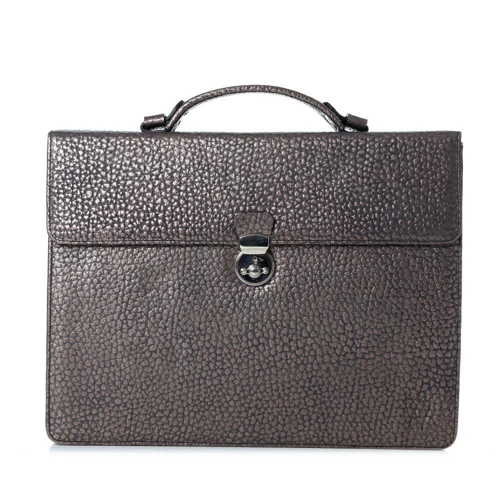 Coole Business Laptop Tasche, silber