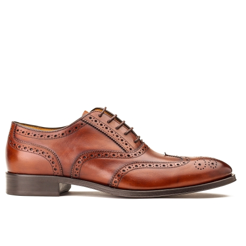 Business Oxford-Fullbrogue  in cognac