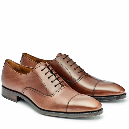 Herren Business-Oxford-Captoe, braun