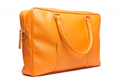 Business Tasche - single Zipp orange