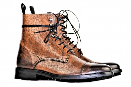 Mickey - Derby Boot - camel